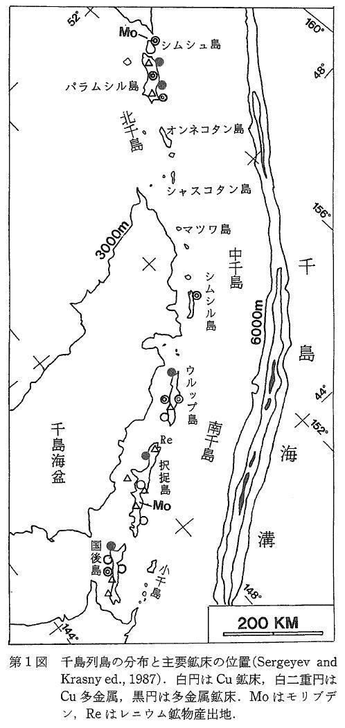 千島列島と北方領土の地下資源概要: 北方領土の地下資源について